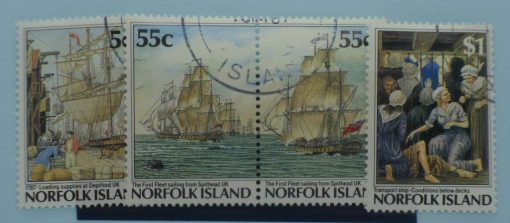 Norfolk Island Stamps, 1987, SG421-424, Used 3