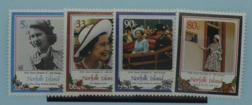Norfolk Island Stamps, 1986, SG389-392, Mint 3