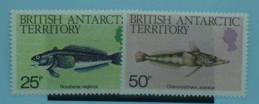 British Antarctic Territory Stamps, 1984, SG135-136, Mint 3
