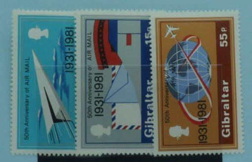 Gibraltar Stamps, 1981, SG454-456, Mint 2