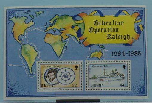 Gibraltar Stamps, 1988, MS603, Mint 3