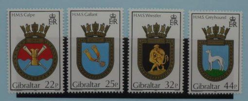 Gibraltar stamps, 1990, SG638-641, Mint 3