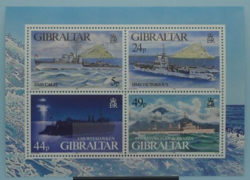 Gibraltar Stamps, 1995, MS748, Mint 3