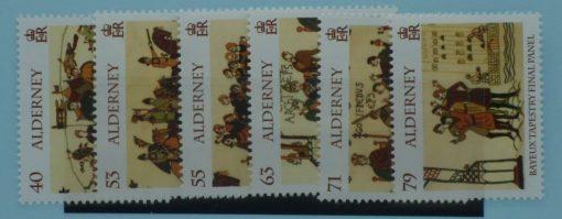 Alderney Stamps, 2014, SGA515-A520, Mint 3