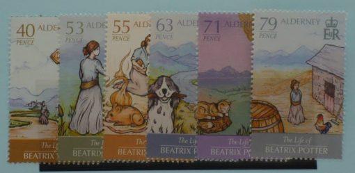 Alderney Stamps, 2013, SGA494-A499, Mint 3