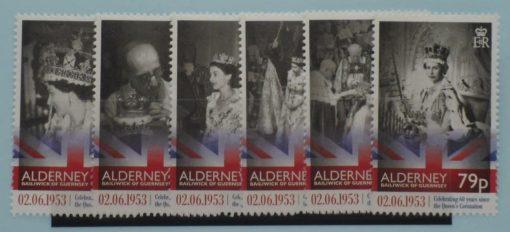 Alderney Stamps, 2013, SGA488-A493, Mint 3