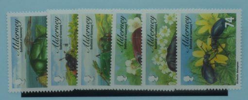 Alderney Stamps, 2013, SGA481-A486, Mint 3