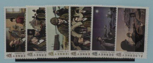 Alderney Stamps, 2009, SGA375-A380, Mint 3