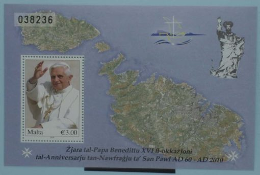 Malta Stamps, 2010, MS1665, Mint 5