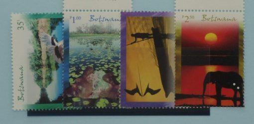 Botswana Stamps, 2000, SG911-914, Mint 3