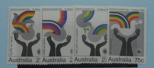 Australia Stamps, 1983, SG882-885, Mint 3
