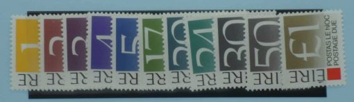 Ireland Stamps, 1988, SGD36-D45, Mint 3