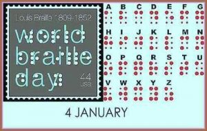 World Braille Day Stamps 1