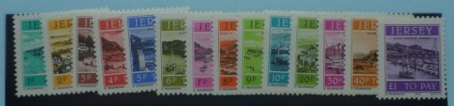 Jersey Stamps, 1982, SGD33-D46, Mint 3