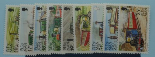 Isle of Man Stamps, 1988-92, SG373-378, Mint 3