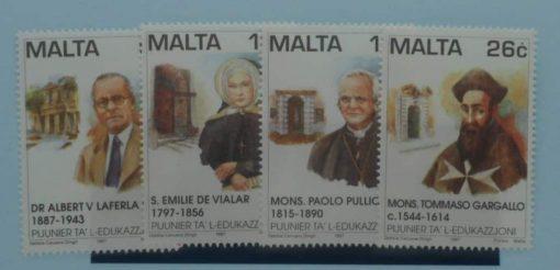 Malta Stamps, 1997, SG1054-1057, Mint 3