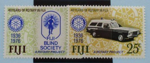 Fiji Stamps, 1976, SG530-531, Mint 3