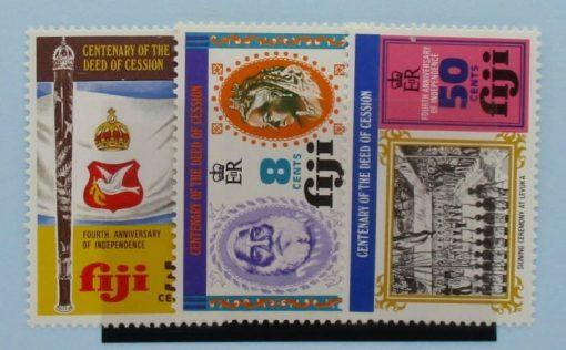 Fiji Stamps, 1974, SG502-504, Mint 3
