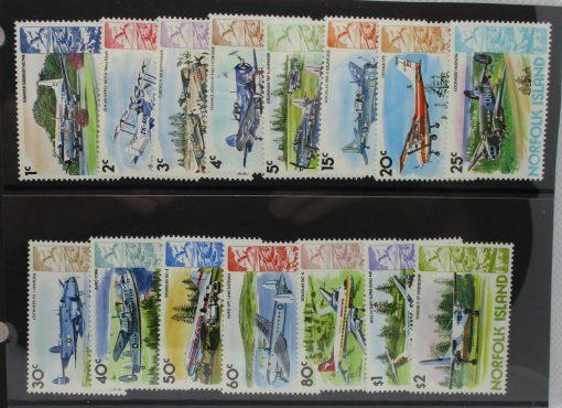 Norfolk Islands Stamps, 1980-81, SG236-250, Mint 3