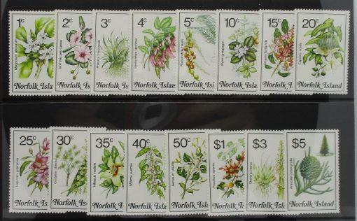 Norfolk Islands Stamps, 1984, SG318-333, Mint 3
