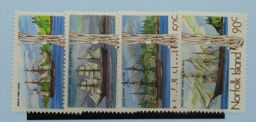 Norfolk Islands Stamps, 1985, SG356-359, Mint 3