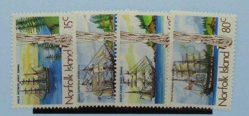 Norfolk Islands Stamps, 1985, SG360-363, Mint 3