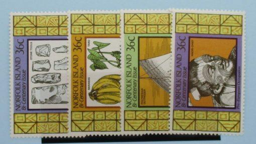 Norfolk Islands Stamps, 1986, SG401-404, Mint 3