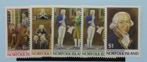 Norfolk Islands Stamps, 1986, SG396-400, Mint 3
