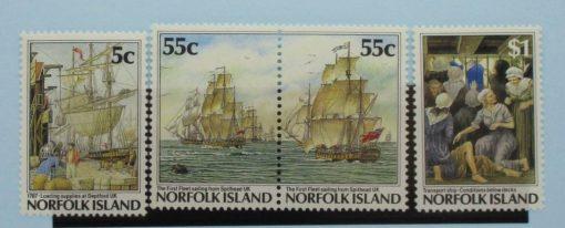 Norfolk Islands Stamps, 1987, SG421, 422a, 424, Mint 3