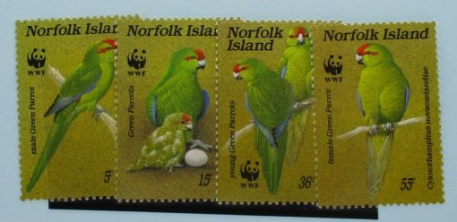 Norfolk Islands Stamps, 1987, SG425-428, Mint 3