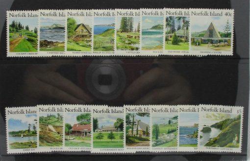 Norfolk Islands Stamps, 1987-88, SG405-420, Mint 3