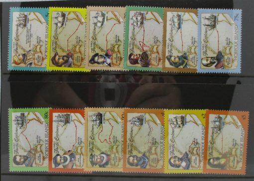 Norfolk Islands Stamps, 1994, SG562-573, Mint 3