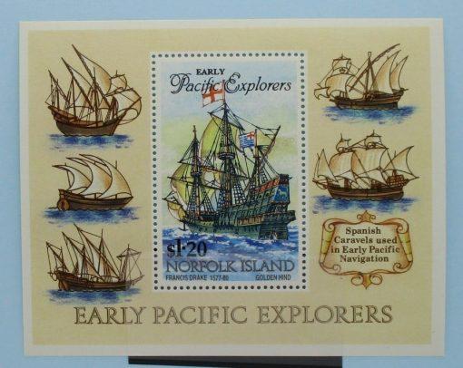 Norfolk Islands Stamps, 1994, MS574, Mint 3