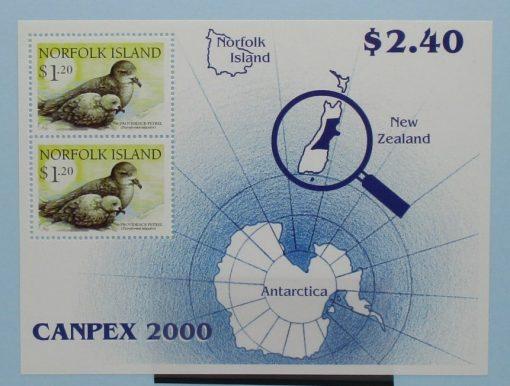 Norfolk Islands Stamps, 2000, MS738, Mint 3