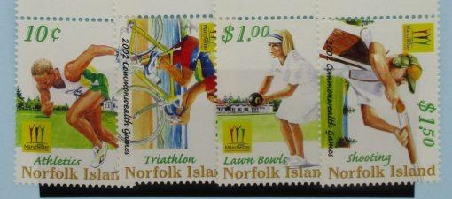 Norfolk Islands Stamps, 2002, SG809-812, Mint 3