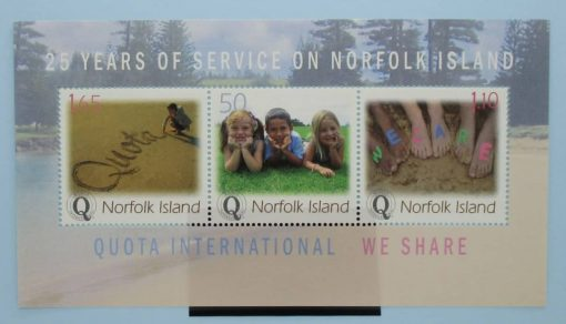 Norfolk Islands Stamps, 2004, MS886, Mint 3