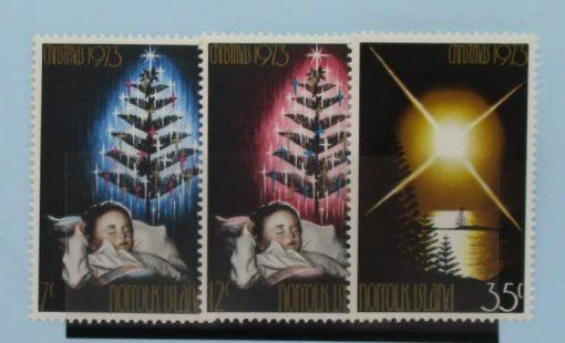 Norfolk Islands Stamps, 1973, SG130-132, Mint 3