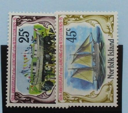 Norfolk Islands Stamps, 1975, SG170-171, Mint 3