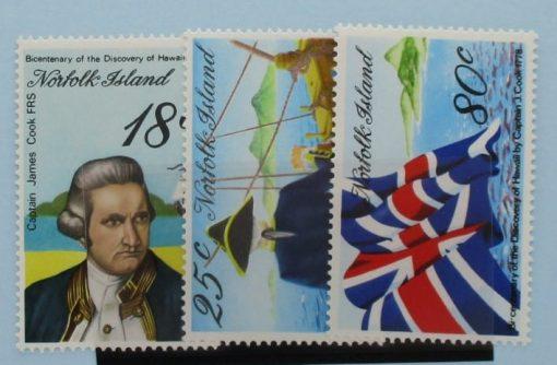 Norfolk Islands Stamps, 1978, SG200-202, Mint 3