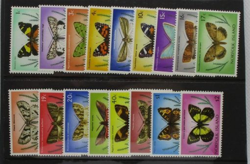 Norfolk Islands Stamps, 1976-77, SG179-195, Mint 3