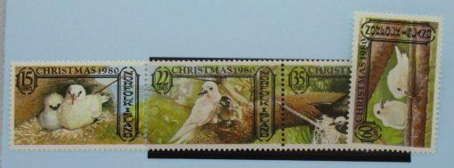 Norfolk Islands Stamps, 1980, SG254a, SG257, Mint 3