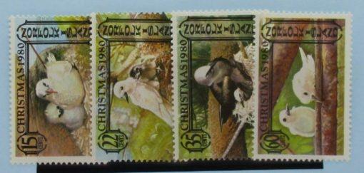 Norfolk Islands Stamps, 1980, SG254-257, Mint 3
