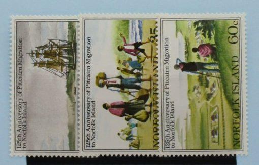 Norfolk Islands Stamps, 1981, SG258-260, Mint 3