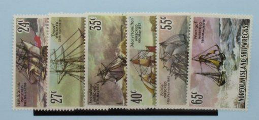 Norfolk Islands Stamps, 1982, SG287-292, Mint 3