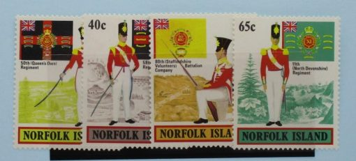 Norfolk Islands Stamps, 1982, SG296-299, Mint 3