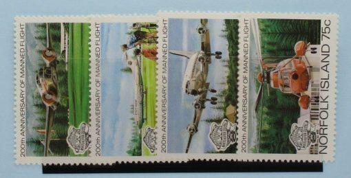Norfolk Islands Stamps, 1983, SG304-307, Mint 3