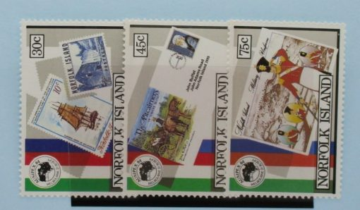 Norfolk Islands Stamps, 1984, SG343-345, Mint 3