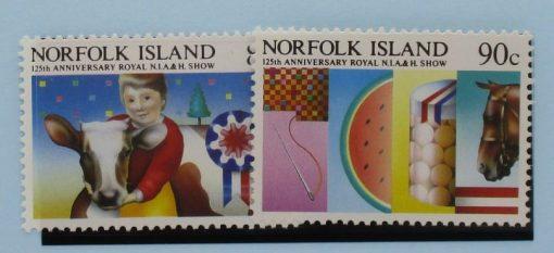 Norfolk Islands Stamps, 1985, SG371-372, Mint 3