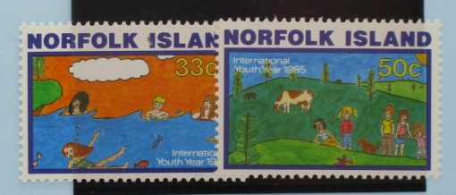 Norfolk Islands Stamps, 1985, SG369-370, Mint 3