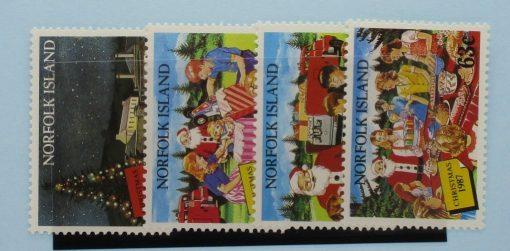 Norfolk Islands Stamps, 1987, SG429-432, Mint 3